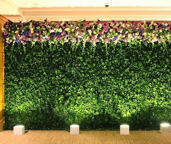 verdegreen jardin vertical para evento muro verde para