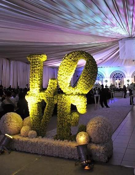 Decoracion Letras Boda ~ VerdeGreen  letras para bodas, renta de letras, decoracion para bodas