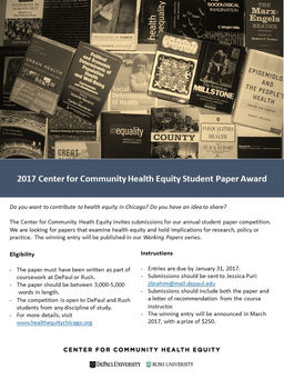 center for community health equity