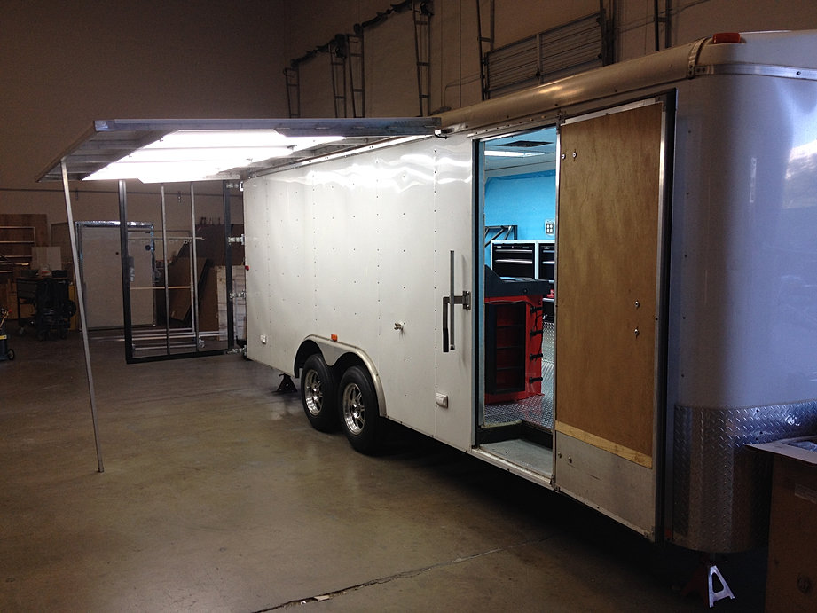 Portable Trailers Work : Custom trucks and trailers sacramento