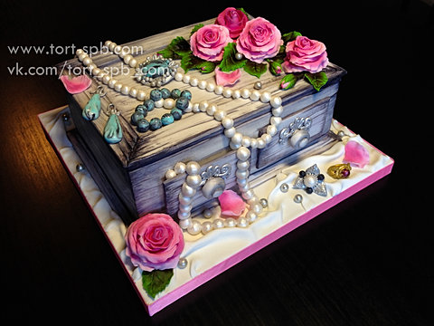 Как сделать торты шкатулки 426