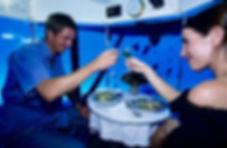 Hochzeit in der Submarine