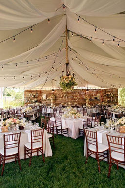 Rustic Wedding Reception Tipi Luxe