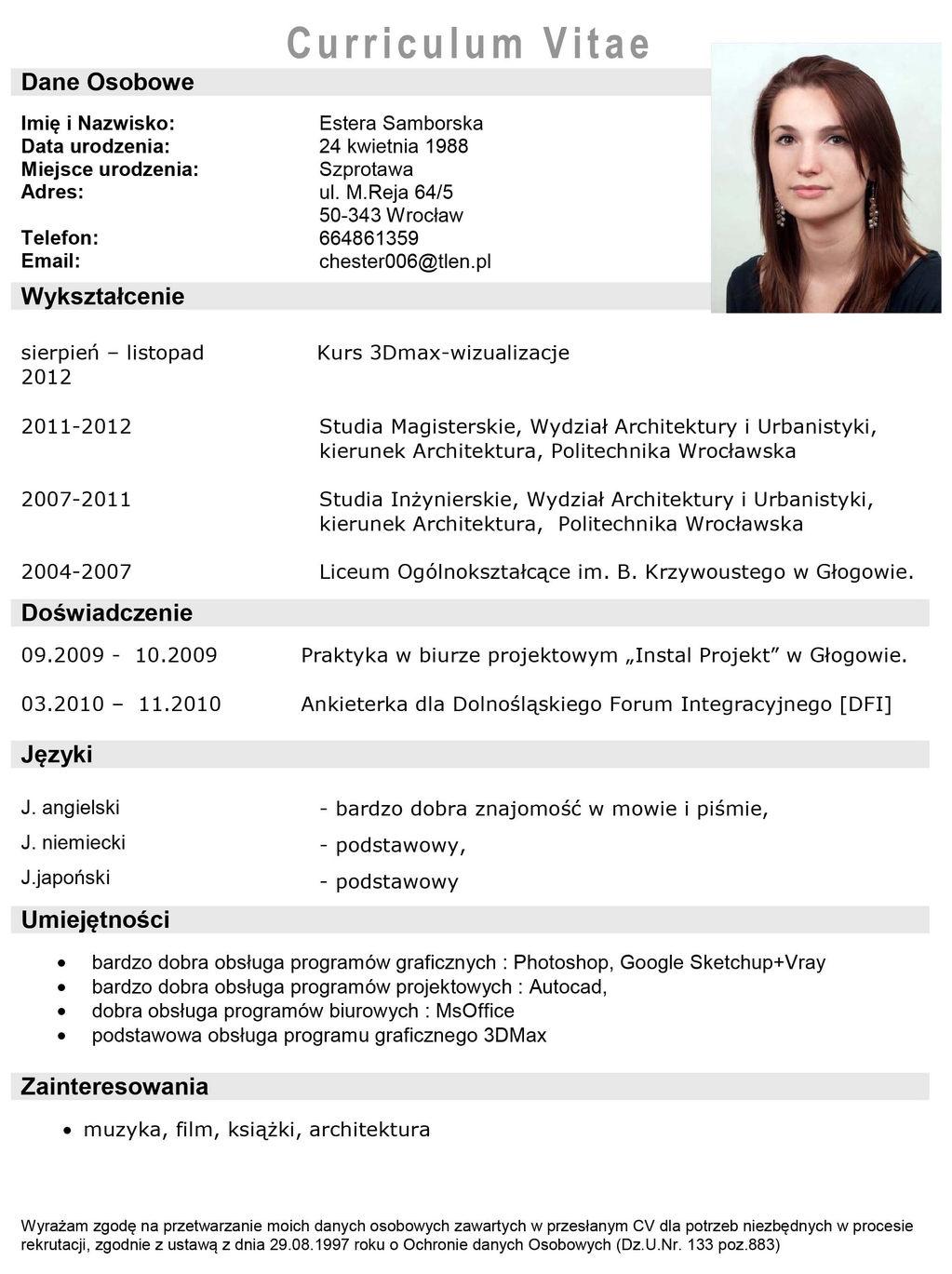 ester samborska wix