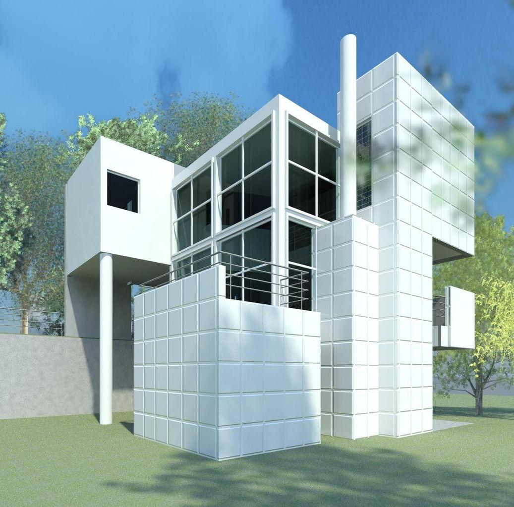 Clarissa leidenheimer designs giovannitti house revit model - Revit home design ...