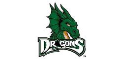 Dayton Dragons logo minor league baseball Cincinnati Reds double a