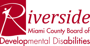 Miami County Board of Developmental Disabilities (Riverside) red logo transparent background