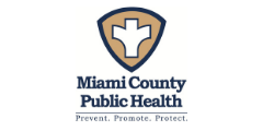 Miami County Public Health Department prevent promote protect logo ohio city government FANS friends allies and neighbors supporter