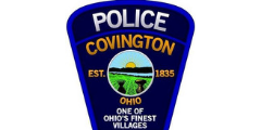 Covington Ohio Police Department police officer first responder law enforcement