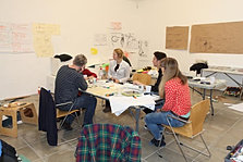Team planning session