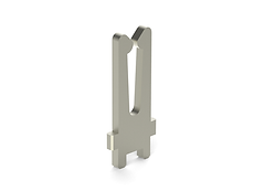 Tuning fork connector Gap 0.55mm stamped terminal