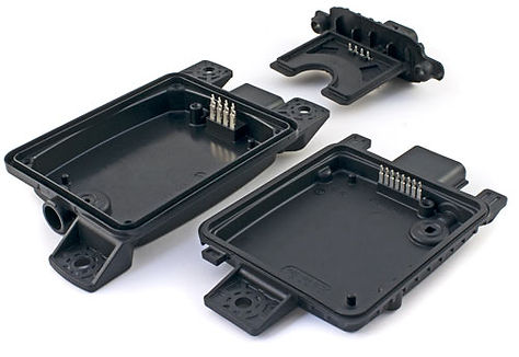 These insert molded radar and transmission range sensor modules feature our approved 0.64mm thick press-fit terminal, and are completely in-house manufactured.