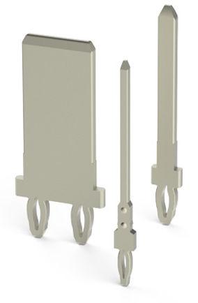 Press-fit terminals (pins and blades)