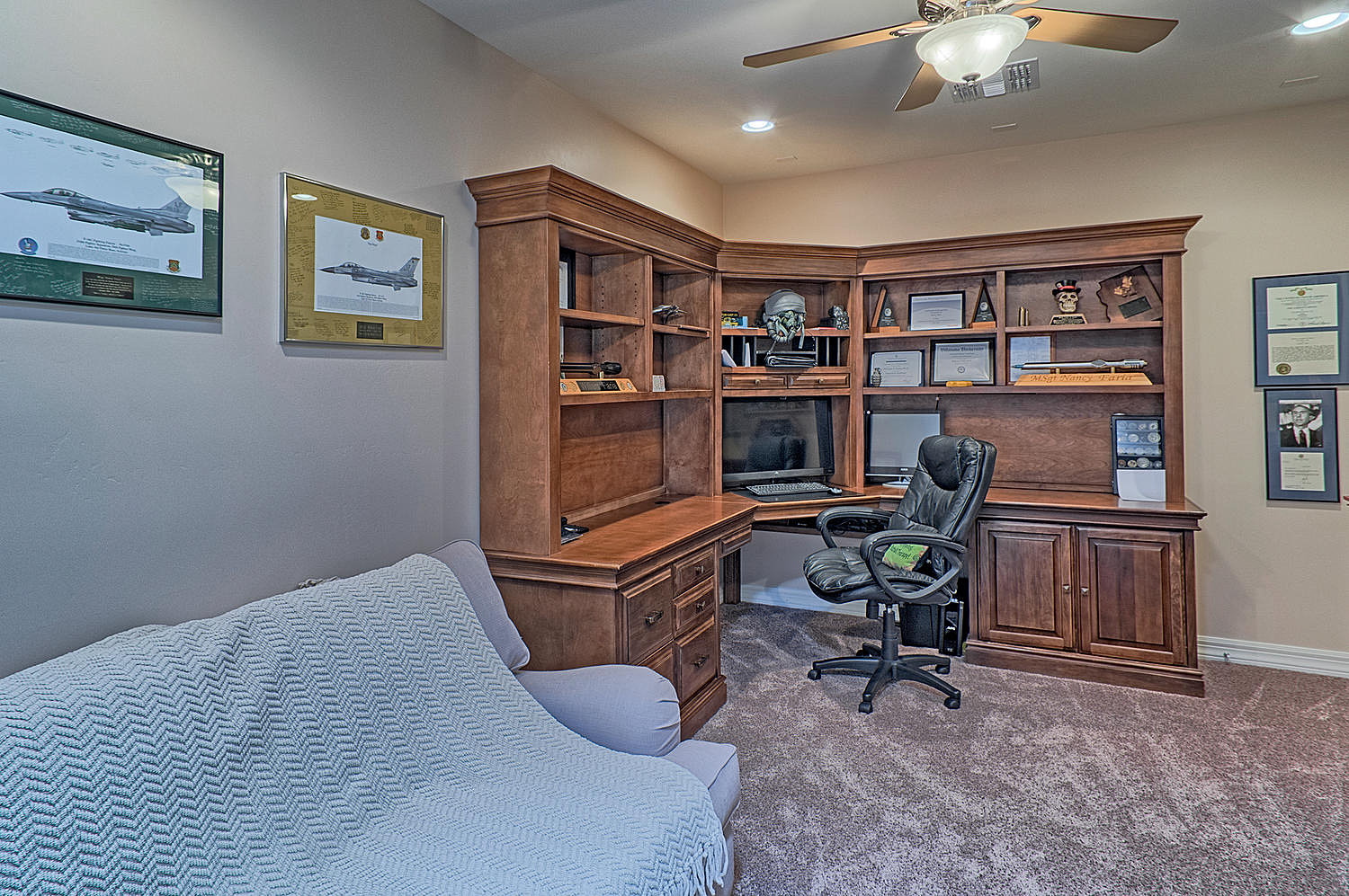 Ironwood Homes Office Game Room