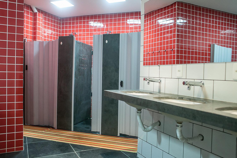 Savassi Hostel  Banheiro Feminino -> Banheiro Feminino Isabela