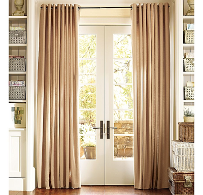 Awesome window drapery ideas with blinds