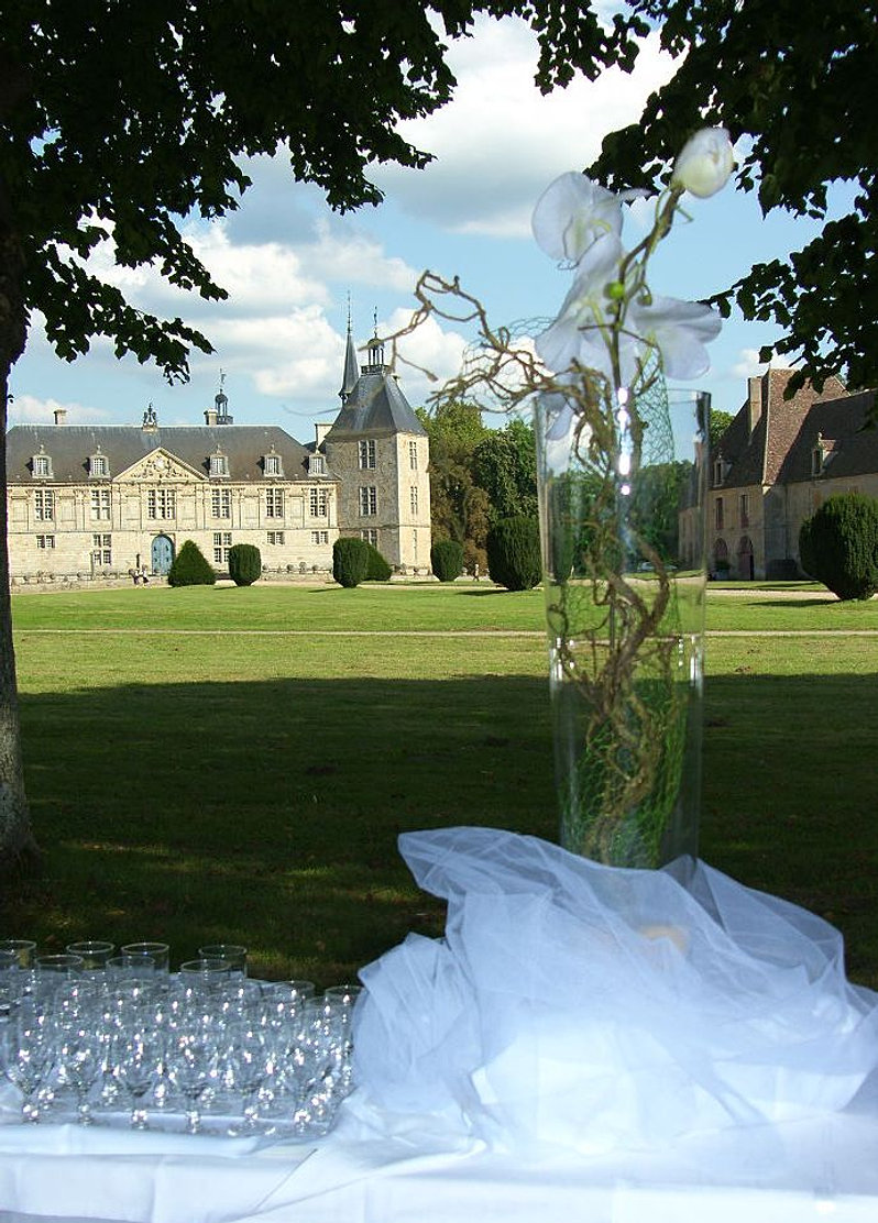 cocktail chateau bourgogne mariage - Chateau De Sully Mariage