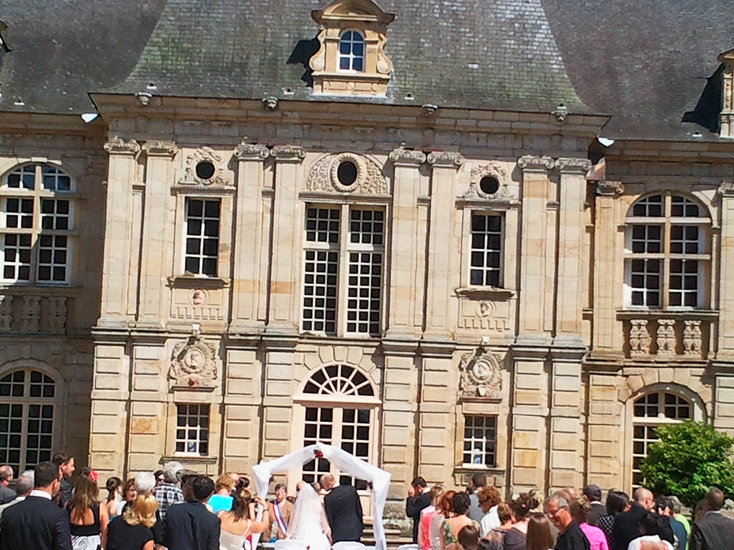 mariage laque chateau bourgogne - Chateau De Sully Mariage