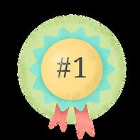Badge du premier prix