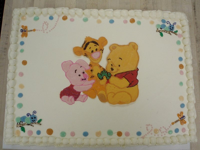 custom winnie the pooh baby shower cake call dacapo 39 s to schedule your