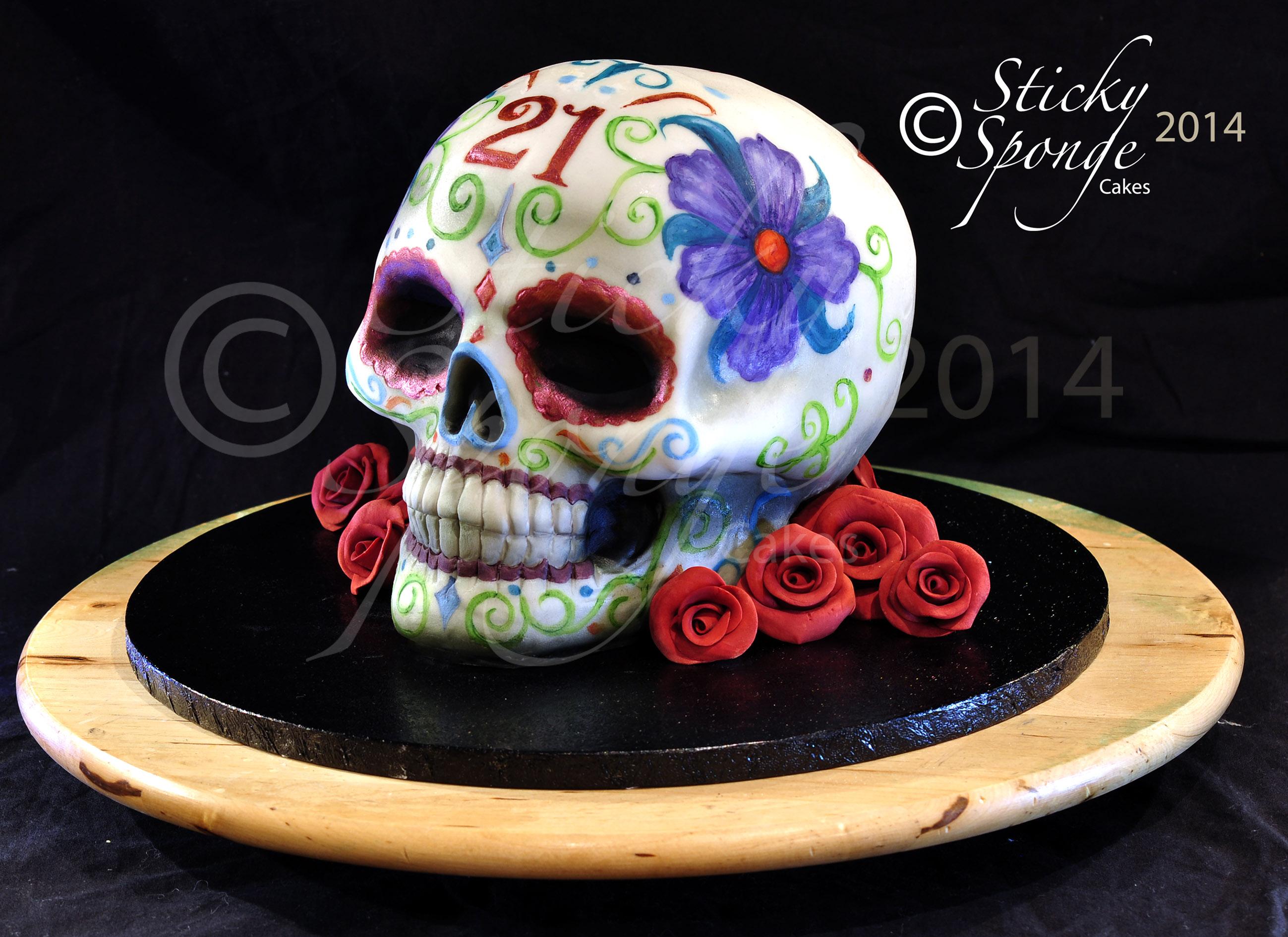 skull all cake ideas - photo #12