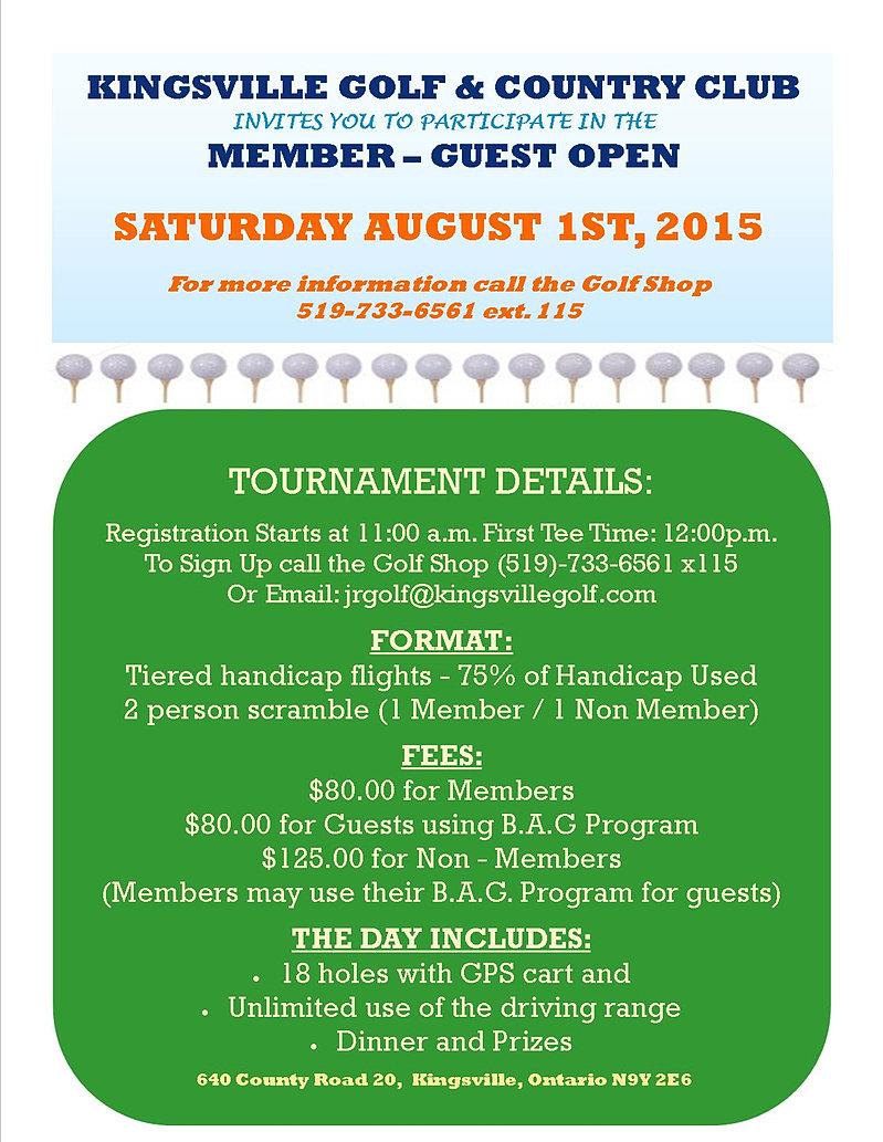 Kingsville Golf Club Dining Room