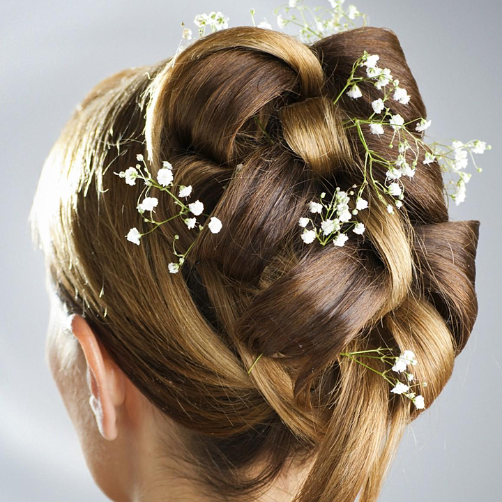 Irish Weddings In Italy | Wedding hairstyle