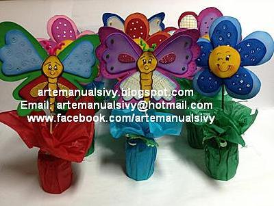 http://arteymanualidadesdesivy.blogspot.com/2013/04/pap-centro-de-mesa-de-flor.html