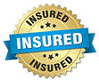 insured-round-isolated-gold-badge-vector