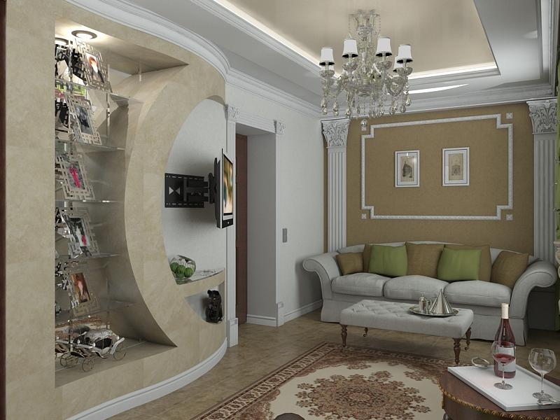 Дизайн студия 24 кв м