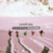 Arta Citko snowboaring in Switzerland