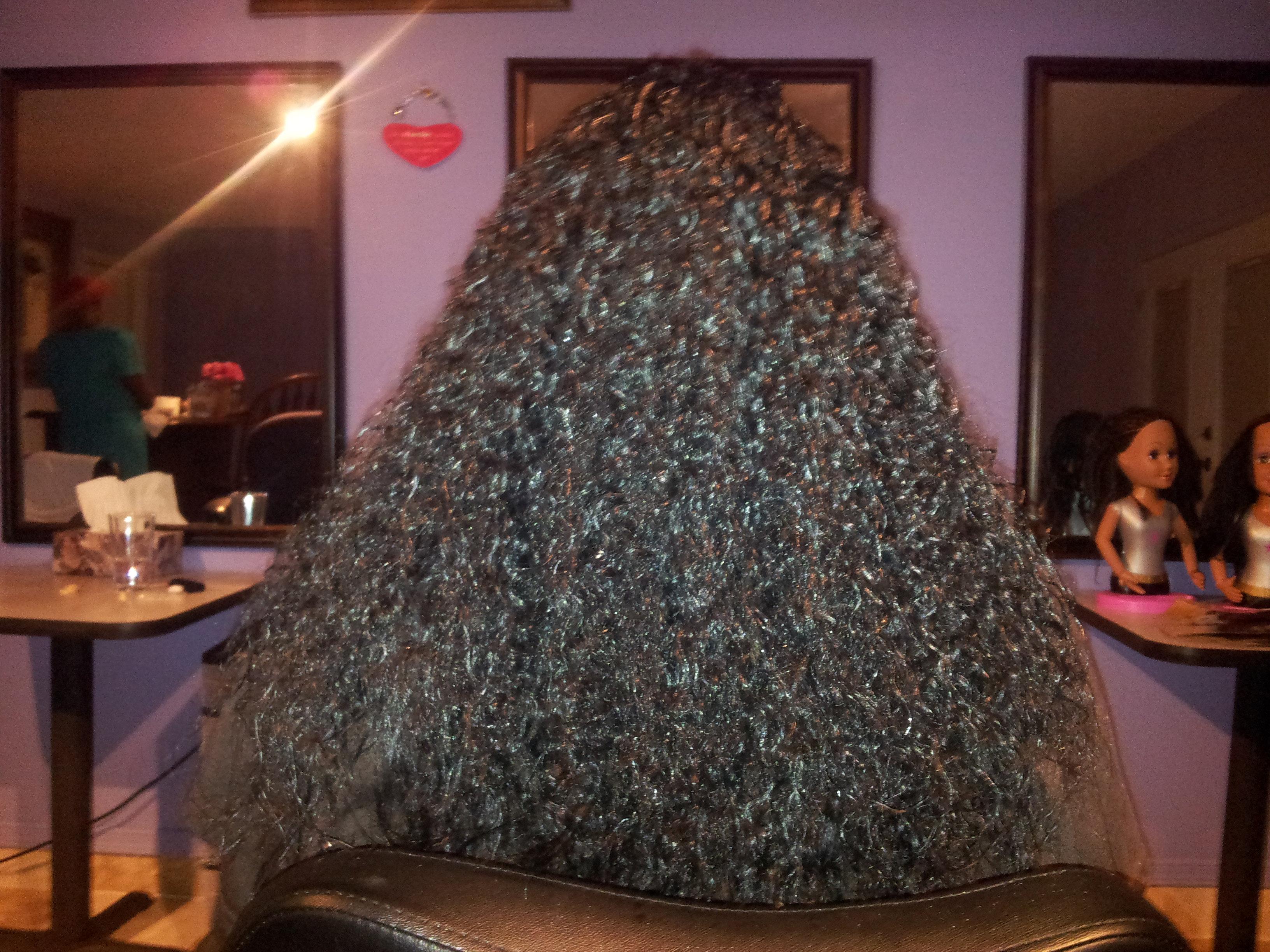 Micro Braids African Hair Short Hairstyle 2013