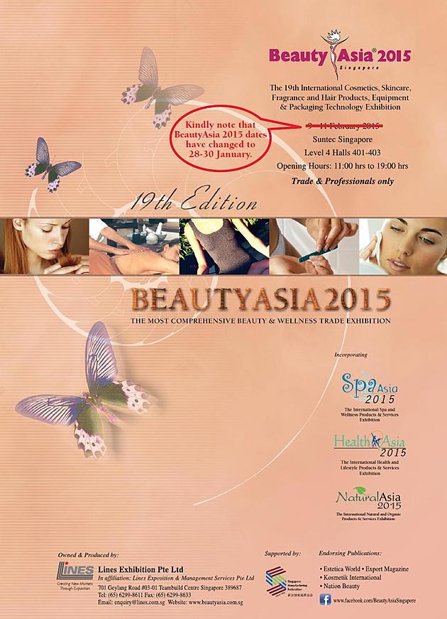 Asia Singapore Singapore Beauty Asia 2015