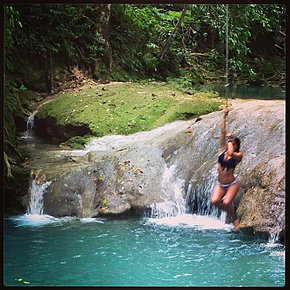 IRIE BLUE HOLE JAMAICA