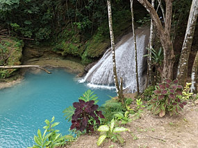 SECRET FALLS IN JAMAICA