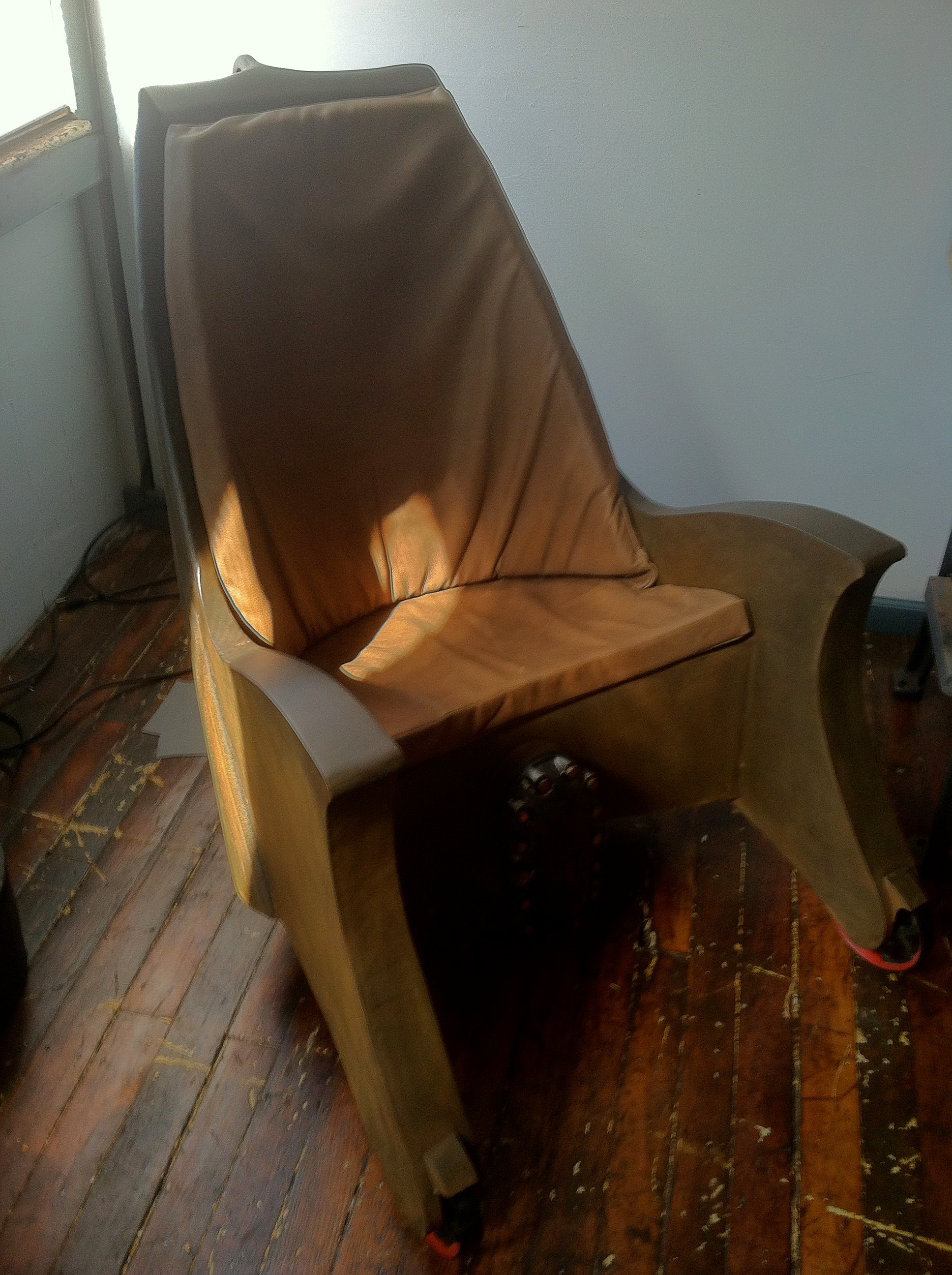 Smoothly welded together to create this awesome man cave chair sold