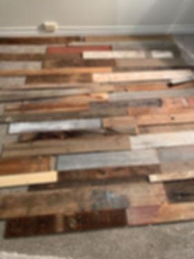 diy barnwood install