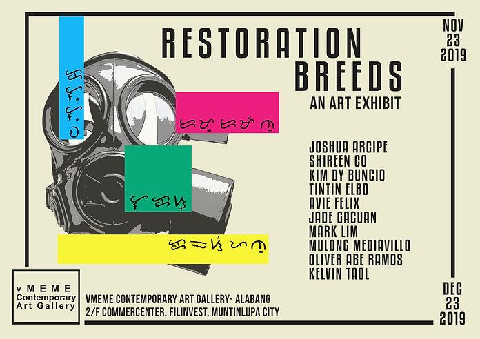 Restoration Breeds: An Art Exhibit