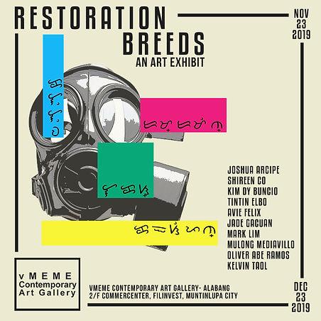 Restoration Breeds Final Poster 4x4ft (1