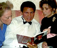 With Muhammed Ali and  wife Loni