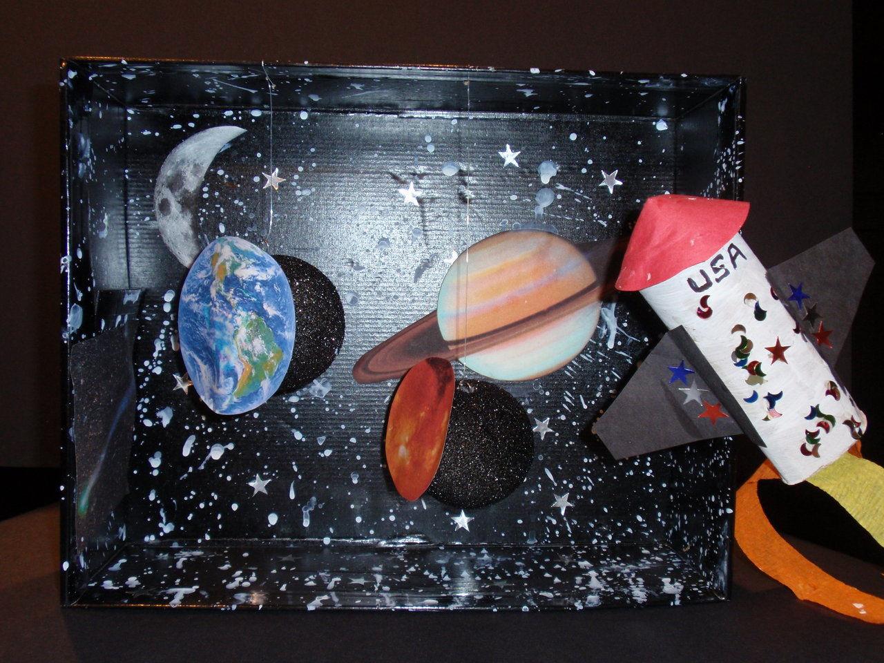 solar system model diorama - photo #21