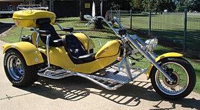 Una Motocicleta Tradicional.