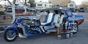 Motocicleta Convertida.