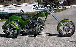 Custom Chopper Trikes