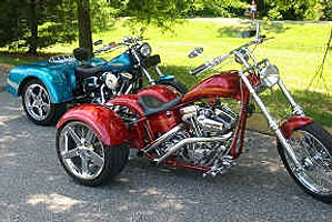 Custom Chopper Trikes