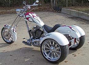 Motocicleta Con Chasis Basculante.