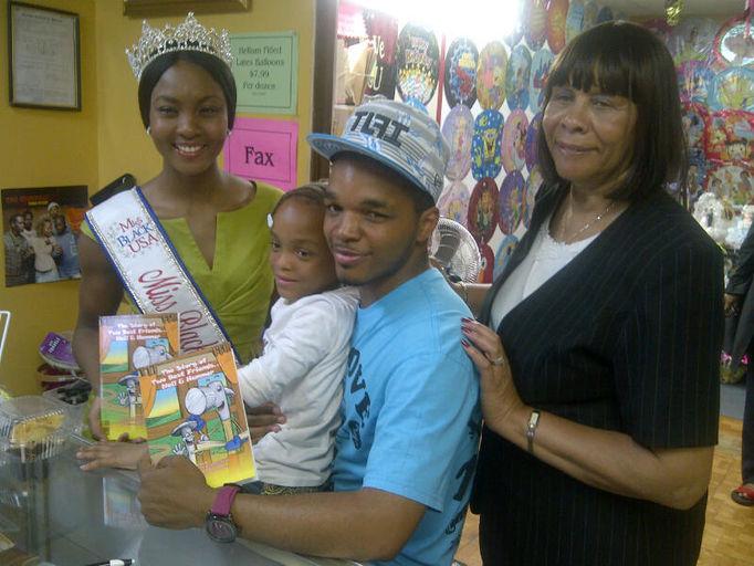 Miss Black USA _ Mrs. James