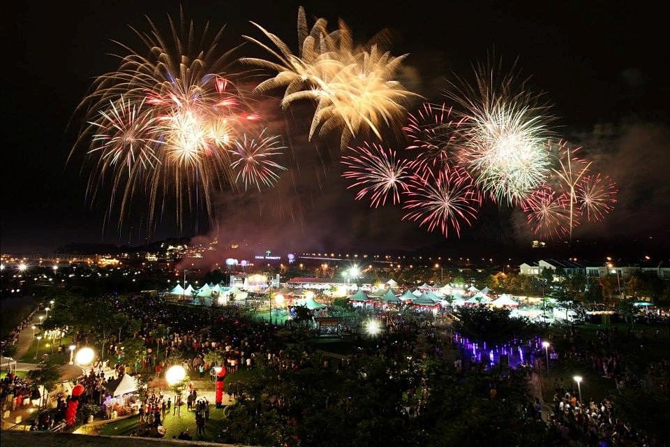 Image result for Desa Parkcity fireworks