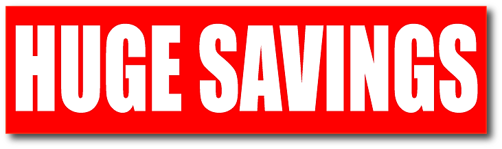 Sale Posters And Signs For Shops And Retail Huge Savings
