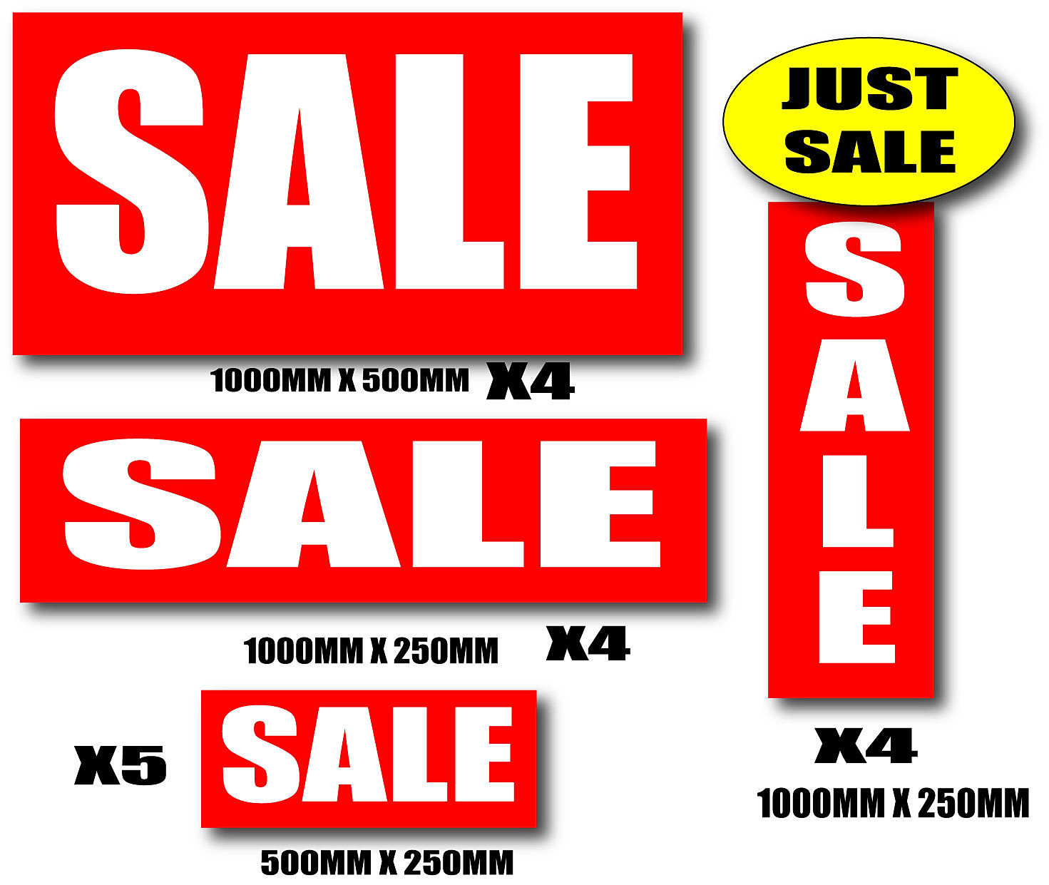 Sale posters and signs for shops and retail sale posters pack jpg